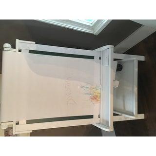 KidKraft Deluxe White Wood Easel