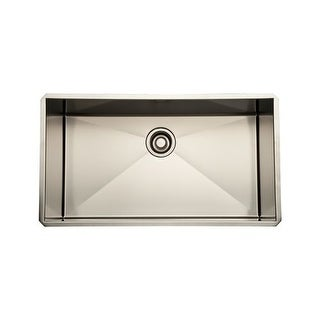 """Rohl RSS3016 30"""" Stainless Steel Single Basin Kitchen Sink"""