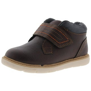 Step and Stride Boys Byron Casual Shoes Faux Leather
