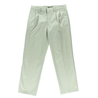 Dockers Mens Twill Double Pleat Khaki Pants