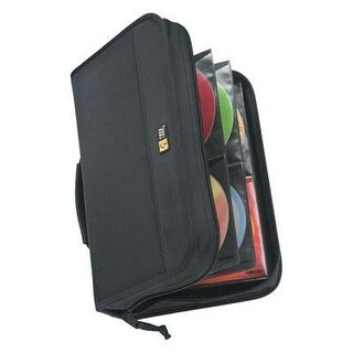 Case Logic 100 Capacity Cd Wallet (Black)