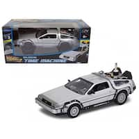Delorean from movie Back To The Future 2 Flying Version 1/24 Diecast Car Model by Welly