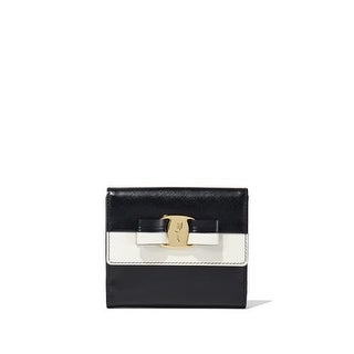 Salvatore Ferragamo Women's 'Vara' Bow French Embossed Wallet