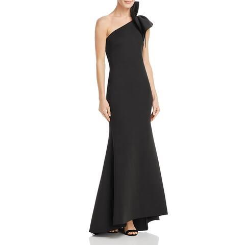 Eliza J Womens Evening Dress Ruffled Mermaid - Black