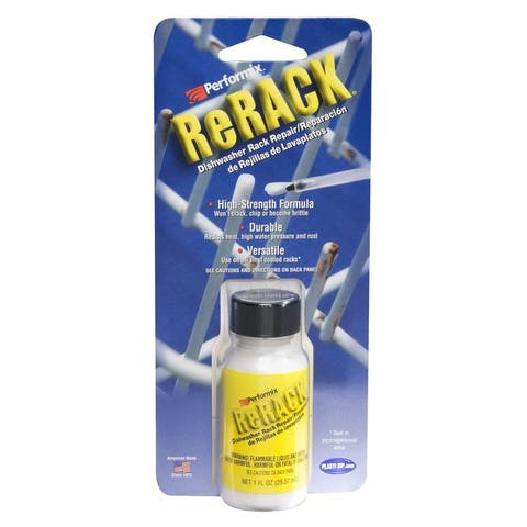 Performix 630076 Rerack Vinyl Rack Repair, White, 1 Oz.