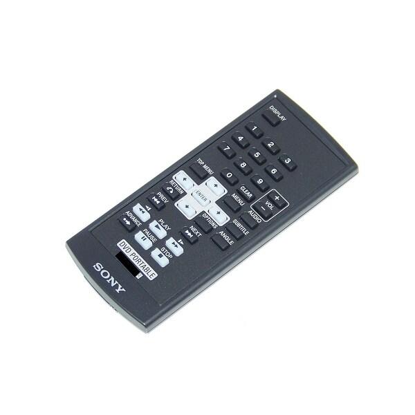 OEM Sony Remote Control Originally Shipped With: DVPFX935, DVP-FX935, DVPFX730, DVP-FX730, DVPFX735, DVP-FX735