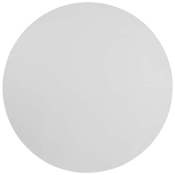 72 Round Granite White Plastic Folding Table Banquet And Event Furniture Overstock 10638558
