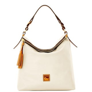 Dooney & Bourke Newbury Leather Sloan (Introduced by Dooney & Bourke at $298 in Sep 2015) - Bone