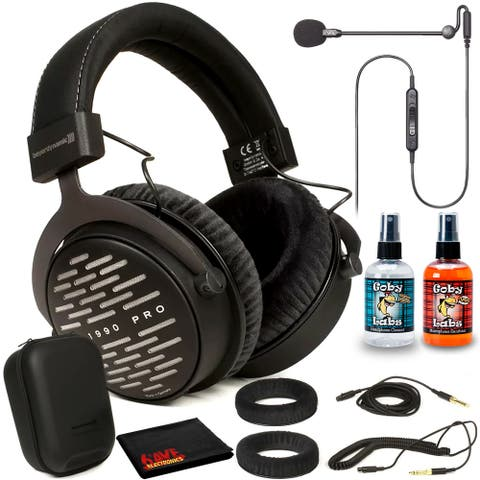 Beyerdynamic DT 1990 Pro Headphones Kit with Antlion Audio ModMic Uni