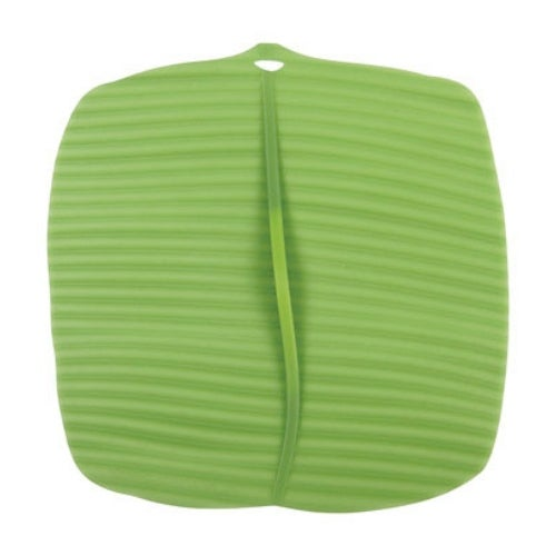 Charles Viancin 1402 Silicone Banana Leaf Square Cover, Medium
