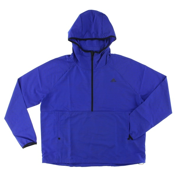 27cbb69fee854 Shop Adidas Womens Gym Style Anorak Dark Purple - Free Shipping Today -  Overstock - 22574140