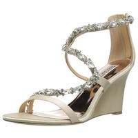 Badgley Mischka Women's Simona Wedge Sandal - 10