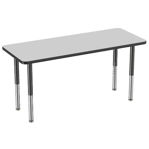 """24"""" x 60"""" Rectangle Activity Table with Adjustable Mobile Super Legs"""