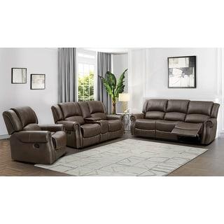 Link to Abbyson Calabasas Reclining Sofa Set Similar Items in Living Room Furniture