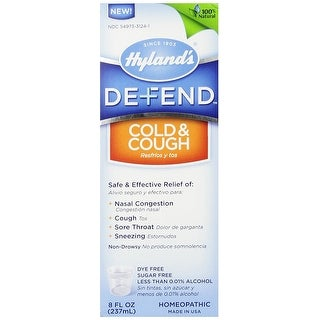 Hylands Homeopathic Defend Cold & Cough 4-ounce