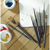 Winsor & Newton - Artists' Watercolor Sable Brush - Round - 1