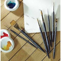Winsor & Newton - Artists' Watercolor Sable Brush - Round - 4