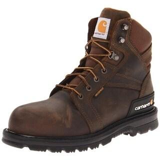 Carhartt Mens Work Boots Leather Steel Toe - 12 medium (d)