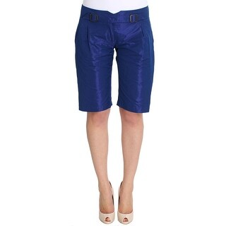 Ermanno Scervino Ermanno Scervino Blue Above Knees Bermuda Shorts - it40-s