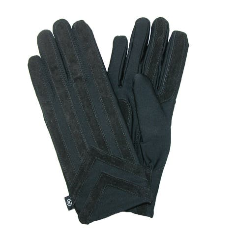 Isotoner Men's Knit Lined Spandex Gloves