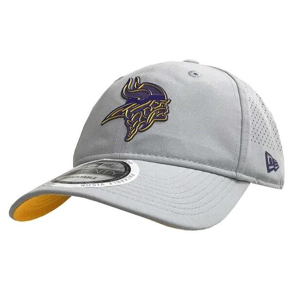 Shop New Era NFL Minnesota Vikings Baseball Hat Cap Training 9Twenty Gray  11766517 - Free Shipping On Orders Over  45 - Overstock.com - 22108197 75396e08ae6