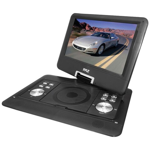 """Pyle 14"""" Portable TFT/LCD Monitor with DVD"""