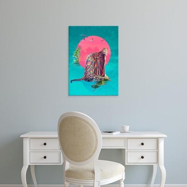 Easy Art Prints Ali Gulec's 'Jaguar' Premium Canvas Art