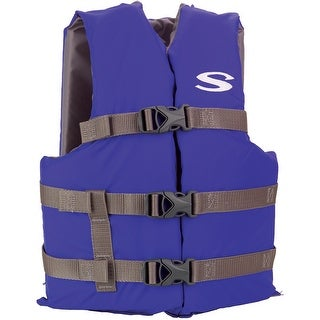 Stearns Classic Youth Life Jacket Blue 50 90 Lbs 3000004473