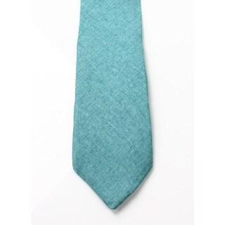 Original Penguin NEW Teal Green Men's One Size Sunny Isle Slim Neck Tie