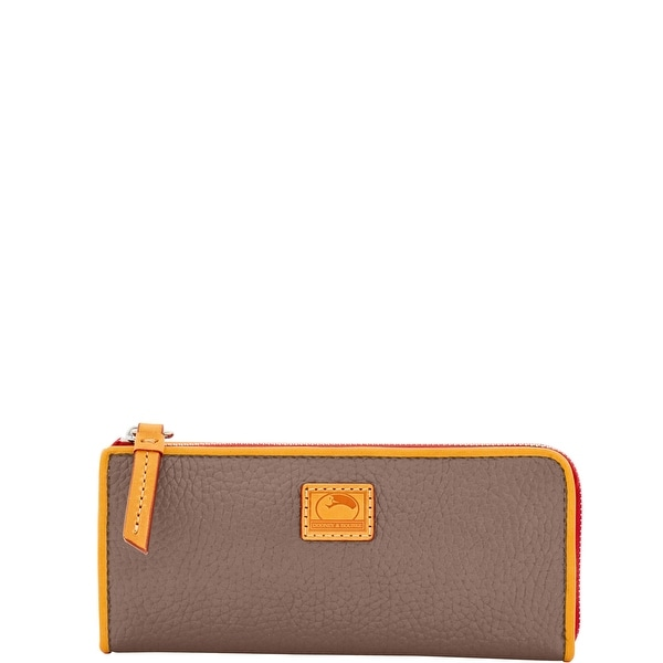 Dooney & Bourke Patterson Leather Zip Clutch Wallet (Introduced by Dooney & Bourke at $128 in Dec 2016)
