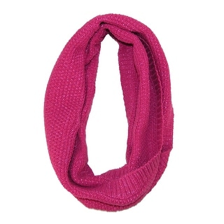 Grand Sierra Girls' 7-16 Knit Winter Loop Scarf - One size