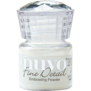 Nuvo Embossing Powder Fine Detail .68Oz-Crystal Clear