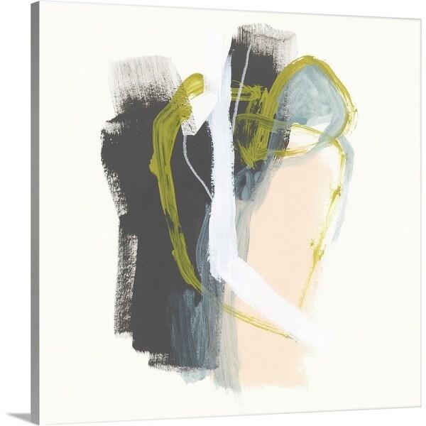 """""""Mixed Metaphor VII"""" Canvas Wall Art"""