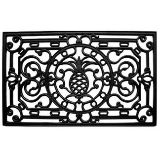 Home & More 90008 Natural Rubber Pineapple Heritage Doormat