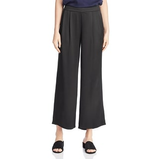 Eileen Fisher Womens Pants Silk Wide Leg