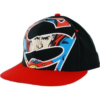 Superman Giant Sublimation Logo Adjustable Baseball Cap