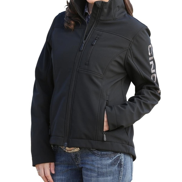 Shop Cinch Western Jacket Women Bonded Concealed Carry Zip Black Free Shipping Today