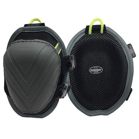 Bucket Boss FX2 Molded Nonmar Knee Pad with Elastic Straps & Buckle Closure