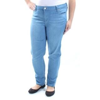 CELEBRITY PINK $25 Womens New 3815 Blue Simply Soft Skinny Jeans 17 Juniors B+B