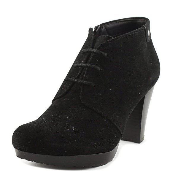 Giani Bernini Womens Odele Almond Toe Ankle Fashion Boots