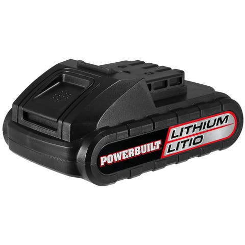 Powerbuilt 20V Lithium Ion Replacement Battery for Drill & Power Tools - 692538E