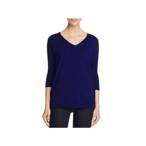 Private Label Womens V-Neck Sweater Cashmere Pullover