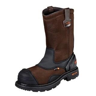 Thorogood Work Boots Mens Gen Flex Waterproof CT Brown 804-4441