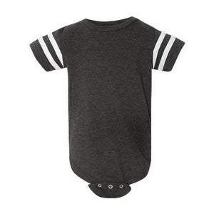 7a59b1e42a2 Shop Infant Football Fine Jersey Bodysuit - Vintage Smoke/ White - 12M -  Free Shipping On Orders Over $45 - Overstock - 16194466
