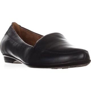 naturalizer Saban Slip-On Loafers, Navy Leather