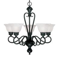 Millennium Lighting 675 Devonshire 5-Light Single Tier Chandelier - n/a