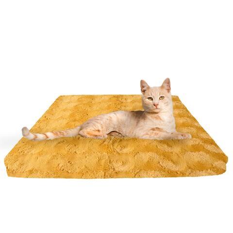 Bessie and Barnie Honeymoon Deluxe Comfort Mat Cat & Dog Bed