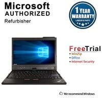 "Refurbished Lenovo ThinkPad X220T 12.5"" Laptop Intel Core I5 2520M 2.5G 4G DDR3 250G Win 10 Professional 64 1 Year Warranty"