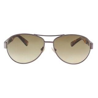 Jimmy Choo BABA/S 0VUT Shiny Bronze Aviator Sunglasses - 59-13-135