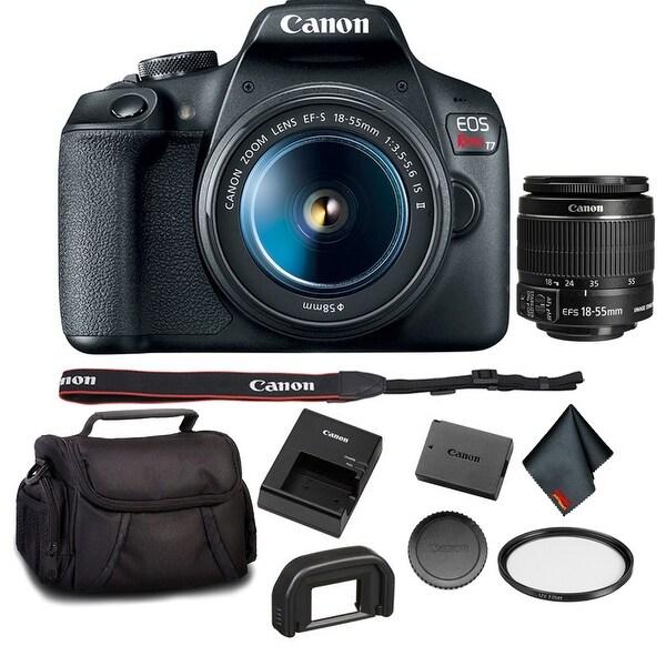 Shop Canon EOS Rebel T7 DSLR Camera with 18-55mm Lens Bundle